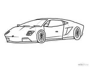 Lamborghini How To Draw Image Gallery Lamborghini Outline