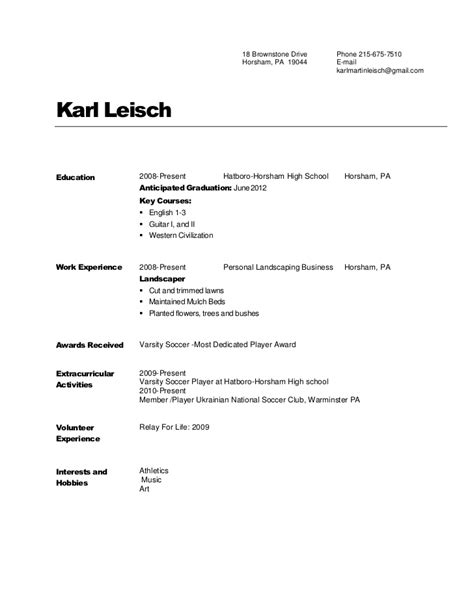Copy Of A Resume by Pathways Resume Copy