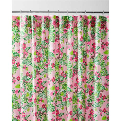 garnet hill lilly pulitzer shower curtain lilly pulitzer 174 sister florals shower from garnet hill home