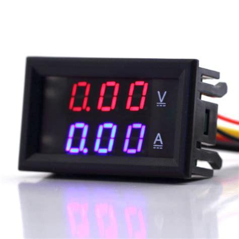 dual voltmeter  ampere meter jual arduino jual
