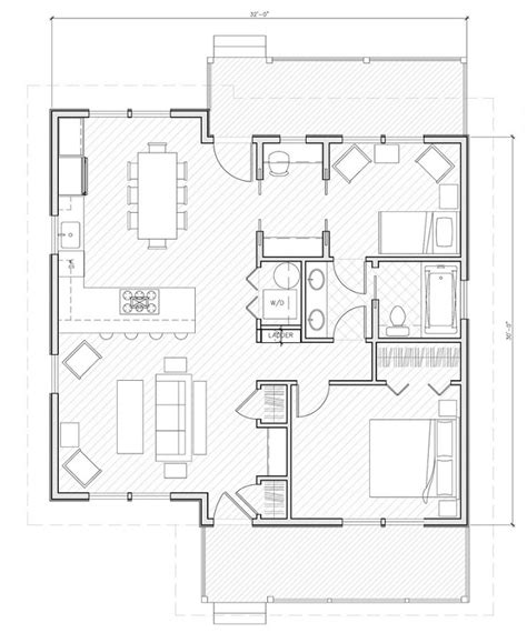 cabin floor plans under 1000 square feet house plans 1000 sq ft smalltowndjs com