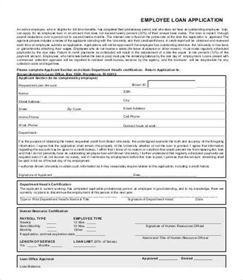 Employee Application Form 9 Free Word Pdf Documents Download Free Premium Templates Employee Loan Template