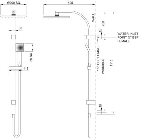 The Plumbing Centre by Methven Rere Parkwood Plumbing Centre