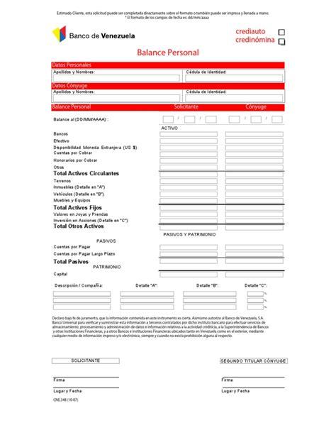 planilla de solicitud credinomina banco bicentenario planilla credito personal banco bicentenario