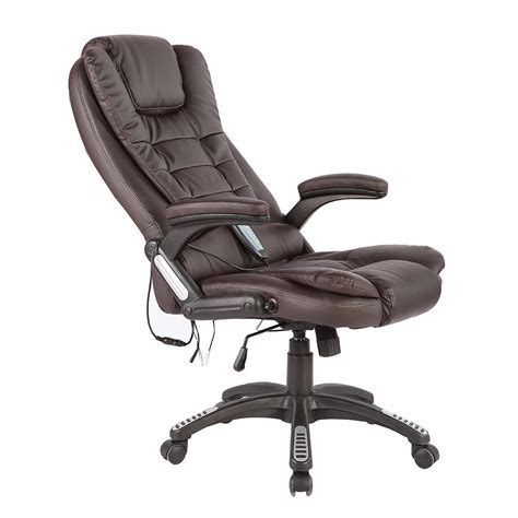 desk massager heated vibrating chair executive ergonomic