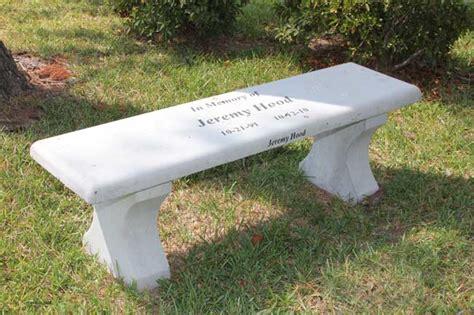 memorial garden benches precast concrete tables precast concrete benches monumental concrete benches