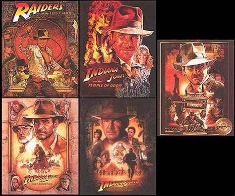 Jones On Order by Indiana Jones Collectible Card Set Posters At