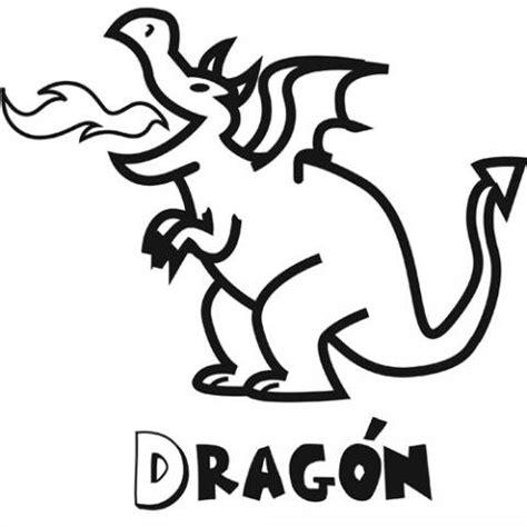 imagenes de halloween con nombres dibujo para colorear con ni 241 os de un drag 243 n