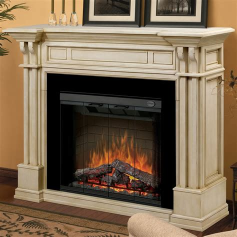 electric fireplaces with mantels dimplex kendal 63 inch electric fireplace with purifire