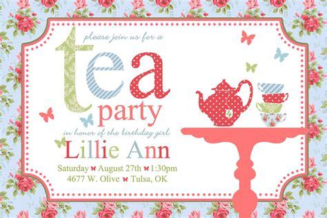 54 best tea party ideas images on pinterest tea party invitations