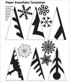 Best Paper To Make Stencils - snowflakes cut out templates invitation template