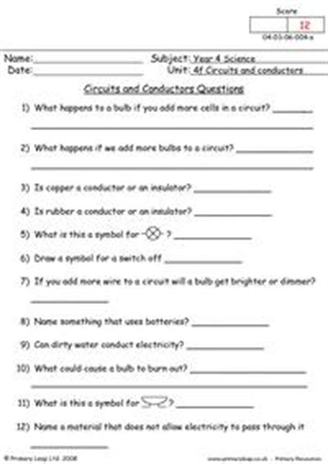 electrical conductors and insulators worksheet 9 best images of circuit symbols worksheet electronic circuit components symbols heat