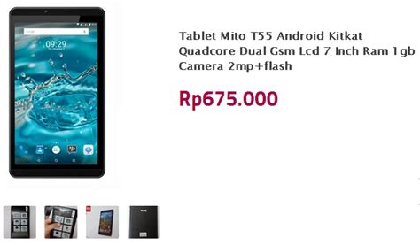 Tablet Murah Bisa Telepon mito t55 tablet murah 600 ribuan ram 1gb bisa telpon dan sms harga dan spesifikasi