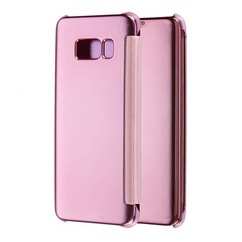 Flip Cover Mirror Samsung S8 Flip Wallet Mirror Samsung S8 premium luxury mirror flip leather cover for samsung galaxy s8 and s8 plus ebay