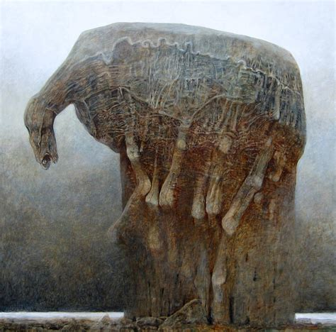 untitled painting untitled ho painting by zdzislaw beksinski