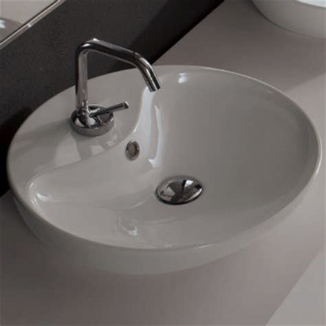 shallow bathroom sink sleek shallow ceramic vessel bathroom sink