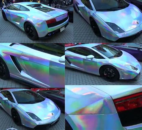 rainbow chrome ferrari chrome rainbow car zoomin by pinterest chrome