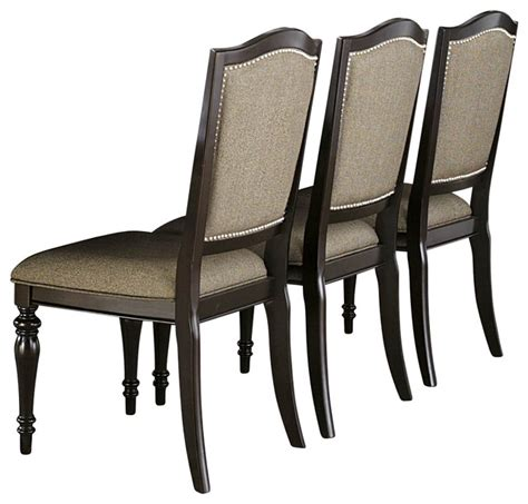 Marston Chair by Homelegance Marston Side Chair W Neutral Tone Fabric