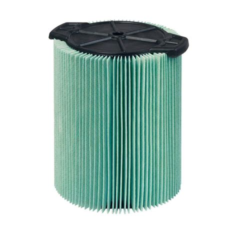 ridgid 5 layer allergen pleated paper filter for 5 0 gal