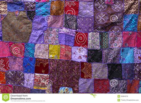 Patchwork Textiles - patchwork textile royalty free stock images image 35994279