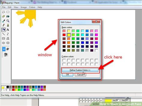 gold color code microsoft paint webnotex