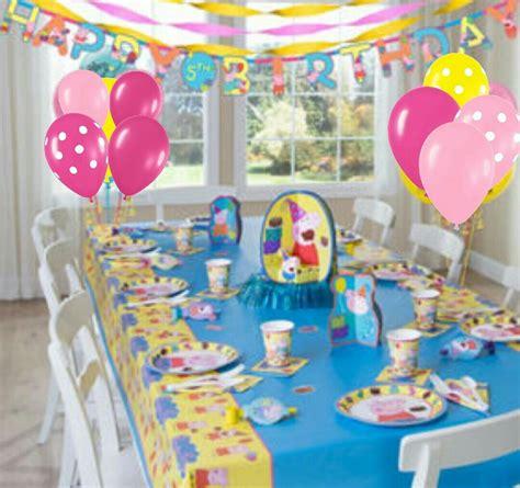 peppa pig fiesta de 8448836464 globos para decorar fiesta peppa pig la cerdita bs 368 000 00 en mercado libre