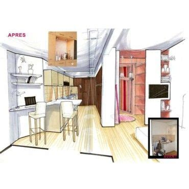 Taille Idéale Salon Salle à Manger by Idees Deco Chambre Parentale 7 Un Studio Dessin233 Par
