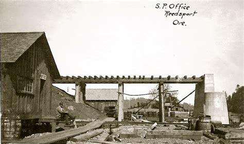 Tillamook Post Office by Post Office Construction Reedsport Or C 1912
