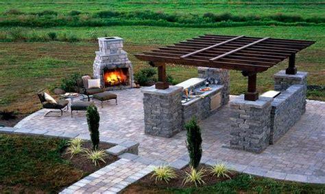 outdoor brick pavers brick paver patio with pit
