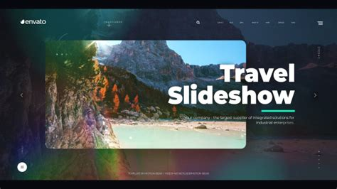 Travel Slideshow Light Envato Videohive After Travel Slideshow After Effects Template