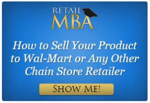 Retail Mba by Selling To Retail How Much Quantity Does A Chain Store