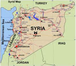 Maps Of Syria by Detailed Tourist Map Of Syria Syria Detailed Tourist Map