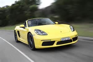 Porsche Boxster 06 Porsche Boxster 718 S Convertible 148 600 Data Details