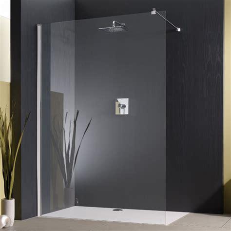 Badezimmer Fliesen Deckenhoch by Begehbare Dusche Mit Duschwanne Und Glas Mega Haus