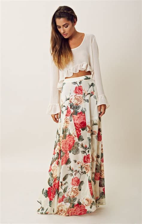 7 Gorgeous Maxis From Free by Maxi Floral Skirt My Style Maxi Skirts