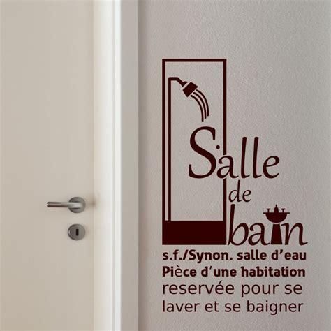 Sticker Pour Salle De Bain by Sticker Salle De Bain 2
