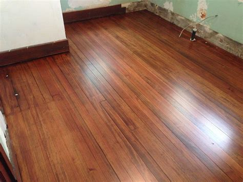douglas fir floor stained english chestnut