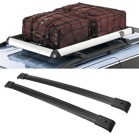 Roof Rack 2 Pcs Cross Bar All New Fortuner All New Pajero rambowill 2pcs set black aircraft aluminum car roof rack