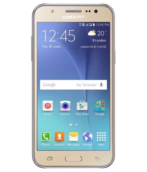 samsung mobile samsung galaxy j5 8gb gold mobile phones at low