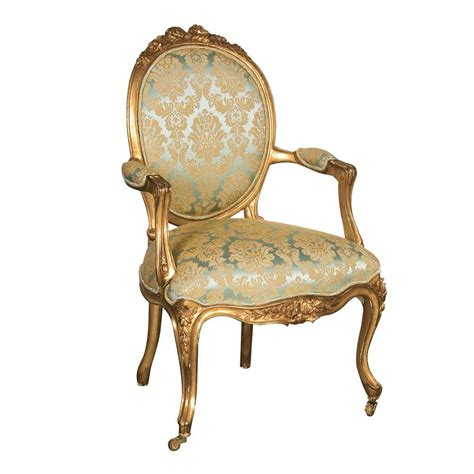 french bedroom chair versailles damask gold seat bedroom chair