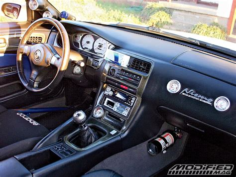 S14 Interior Mods by 1995 Nissan 240sx Modified Magazine
