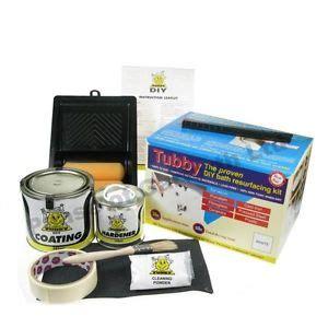 Enamel Bathtub Paint by New White Tubby Enamel Bath Paint Kit For Re Surfacing