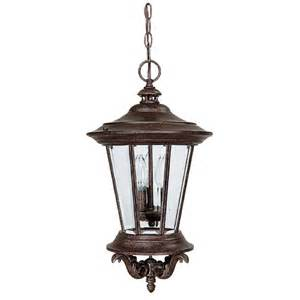 outdoor hanging light fixture capital lighting traditional 3 light outdoor
