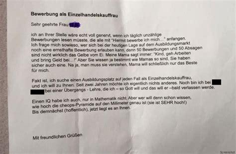 Deichmann Bewerbung Eine Frau Hat Eine Bewerbung Geschrieben Die Zeigt Wie Lustig Anschreiben Sein K 246 Nnen