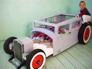 Custom Toddler Car Bed New Furniture From Car Parts
