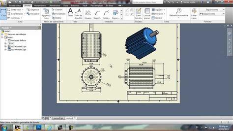 crear planos autodesk inventor como hacer planos