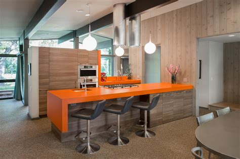 Mid Century Modern Kitchen Cabinets by Mid Century Modern Arete Kitchens Midcentury Kitchen