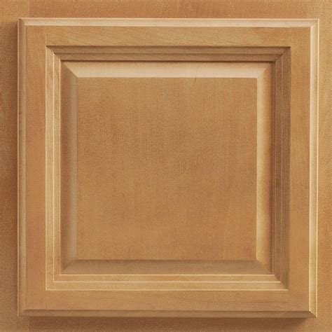 Maple Cabinet Door American Woodmark 13x12 7 8 In Portland Maple Cabinet Door Sle In Spice 99909 The Home Depot