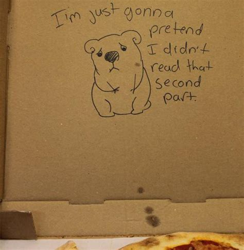 20 hilarious special request pizza box drawings we can