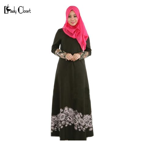 Nnc Dress Muslim Shofiyah Dress new design abaya turkish clothing muslim dress islamic robe musulmane muslim flower print